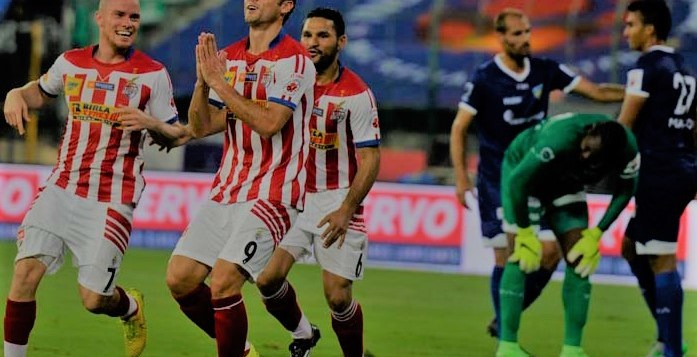 Chennaiyin FC and Atletico Kolkata will go head to head on Sunday