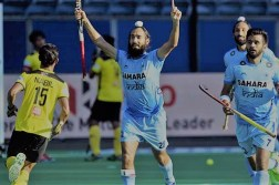 India vs Malaysia Hockey Match 2017