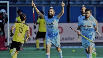 India vs Malaysia Quarterfinal Hockey World League Semi-Final