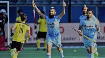 India vs Malaysia Hockey Match CWG 2018