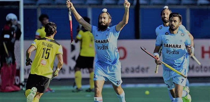 India vs Malaysia Hockey Match CWG 2018