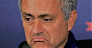 Mourinho said that Arsenal were not Arsenal today