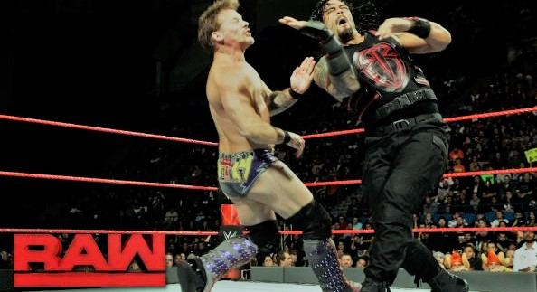 Roman Reigns vs Chris Jericho for the United States Championship