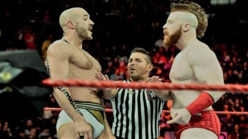 Sheamus and Cesaro vs The New Day