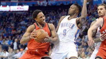 Oklahoma City Thunder vs Toronto Raptors