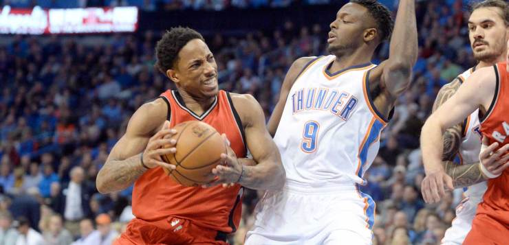 Oklahoma City Thunder vs Toronto Raptors
