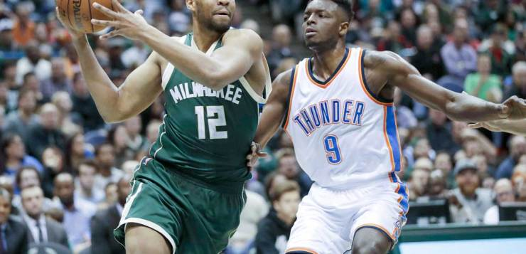 Oklahoma City Thunder vs Milwaukee Bucks