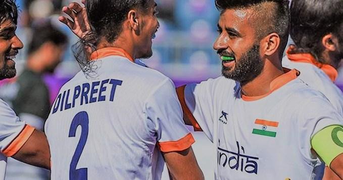 CWG 2018 India vs Wales Hockey Match