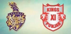 Kolkata Knight Riders vs Kings XI Punjab