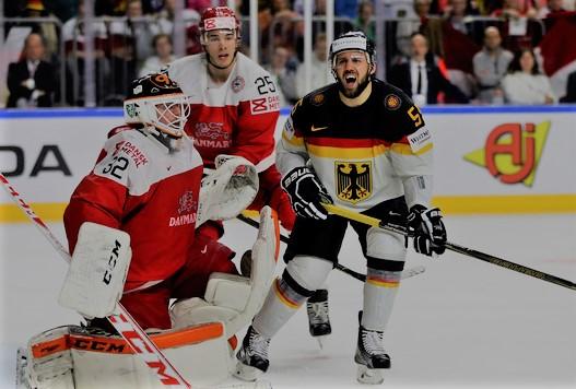 IIHF Ice Hockey World Championship Germany vs Denmark 2018