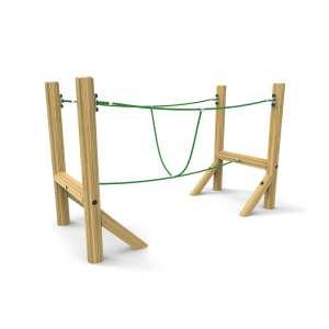 burma bridge, school trim trail, playground equipment, Playcubed, Valley Provincial, Primary school playground, recreation area, playground construction, playground installation, bespoke playground design