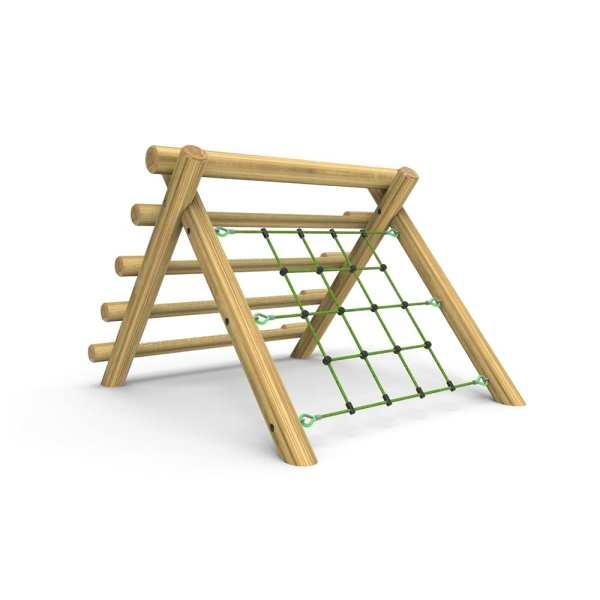 0049 A Frame Net Log Climber Small