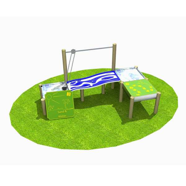 water play table, school water play, Playcubed, Valley Provincial, Primary school playground, playground installation, playground construction, bespoke playground design, playground equipment, sensory play area