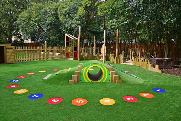 numeracy circle, Playcubed, Valley Provincial, Primary school playground, playground installation, playground construction, bespoke playground design, playground equipment, sensory play area, educational play