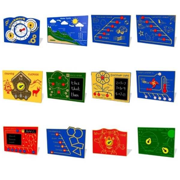 play panel, Playcubed, Valley Provincial, Primary school playground, playground construction, playground installation, bespoke playground design