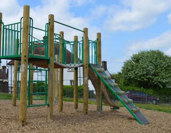 rivendell tower unit, Playcubed, Valley Provincial, Primary school playground, recreation area, playground installation, playground construction, bespoke playground design, playground landscaping, playground activity frame