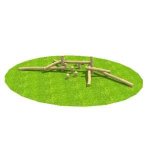 robinia clamber climber, Playcubed, Valley Provincial, Primary school playground, playground installation, playground construction, bespoke playground design, playground equipment, school trim trail