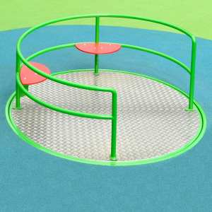 roundabout, inclusive play, Playcubed, Valley Provincial, recreation area, playground installation, playground construction, bespoke playground design, playground equipment