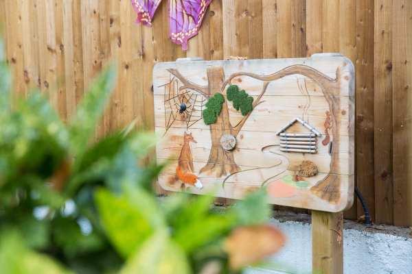 sensory panels, Playcubed, Valley Provincial, Primary school playground, playground installation, playground construction, bespoke playground design, playground equipment, sensory play
