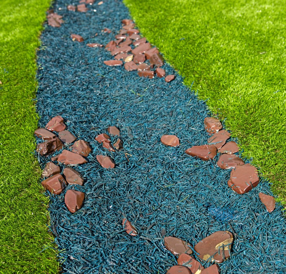 rubber mulch, Playcubed, anti-slip playground surface, natural looking safety surfacing, safety surfacing Kent, safety surfacing South East, safety surfacing London