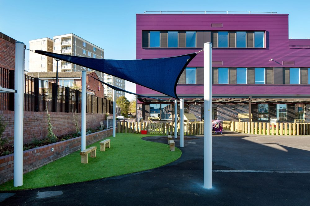 playcubed, Valley Provincial, playground sails, shade sails, shade sails South East, playground design, creative shade areas