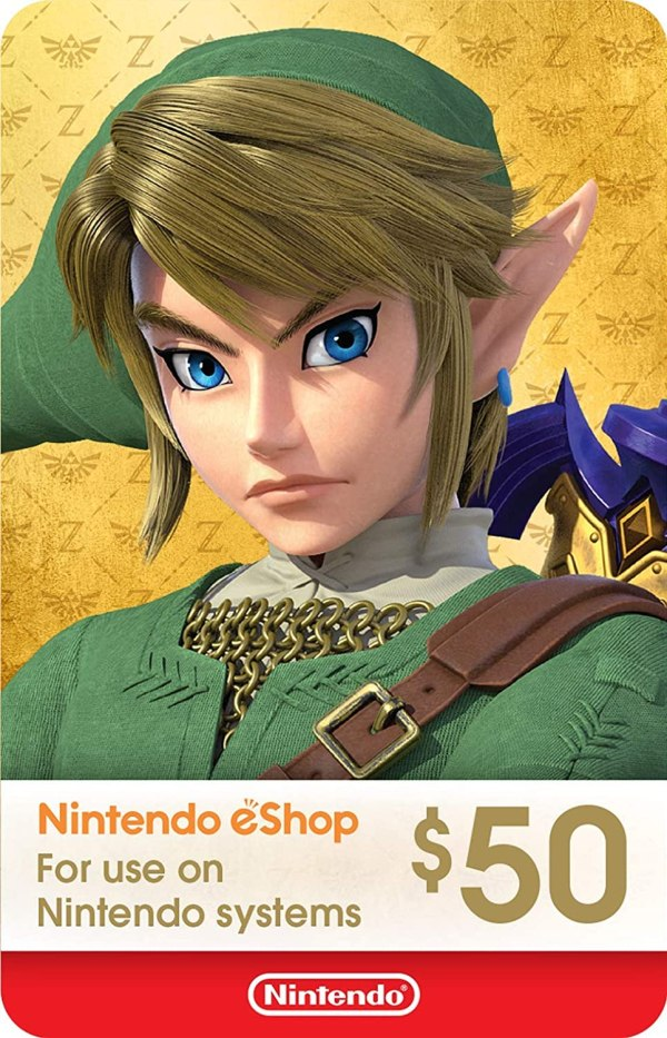 eShop Card de $50 - Código Digital