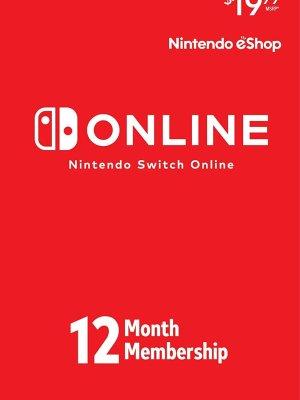 Nintendo Online 12 meses (individual) - Código Digital