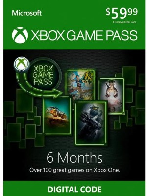 Xbox Game Pass de 6 meses - Código Digital