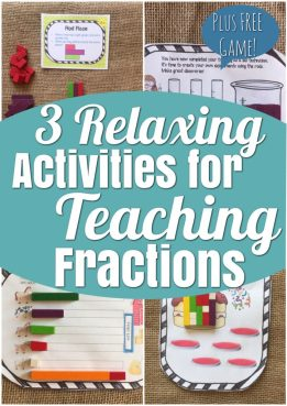 lesson ideas for teaching fractions with cuisenaire rods