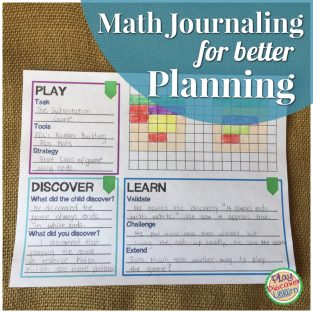 math journaling
