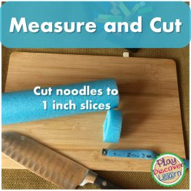 Directions for Math DIY for fun hands on math