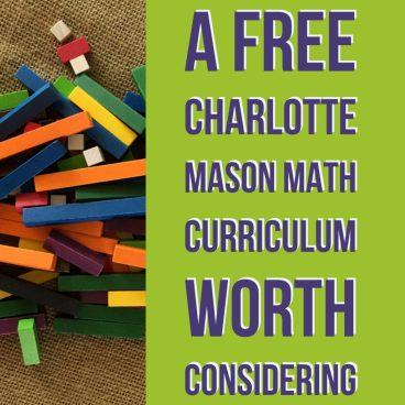 Free charlotte mason math