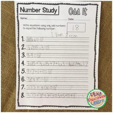 number studies math