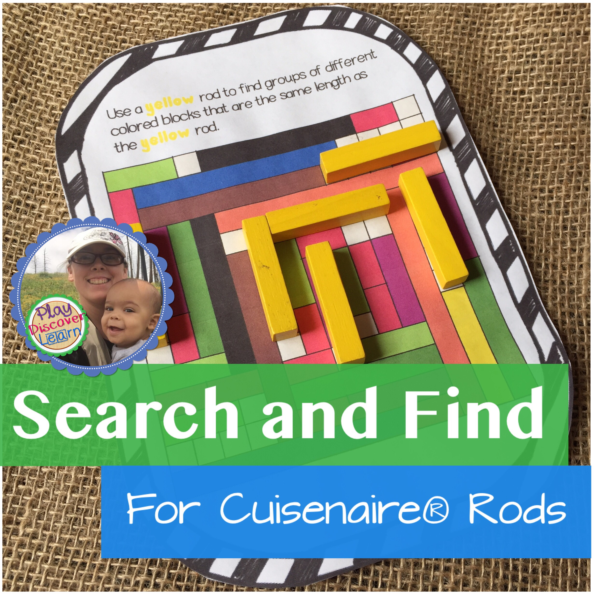 search and find for cuisenaire rods