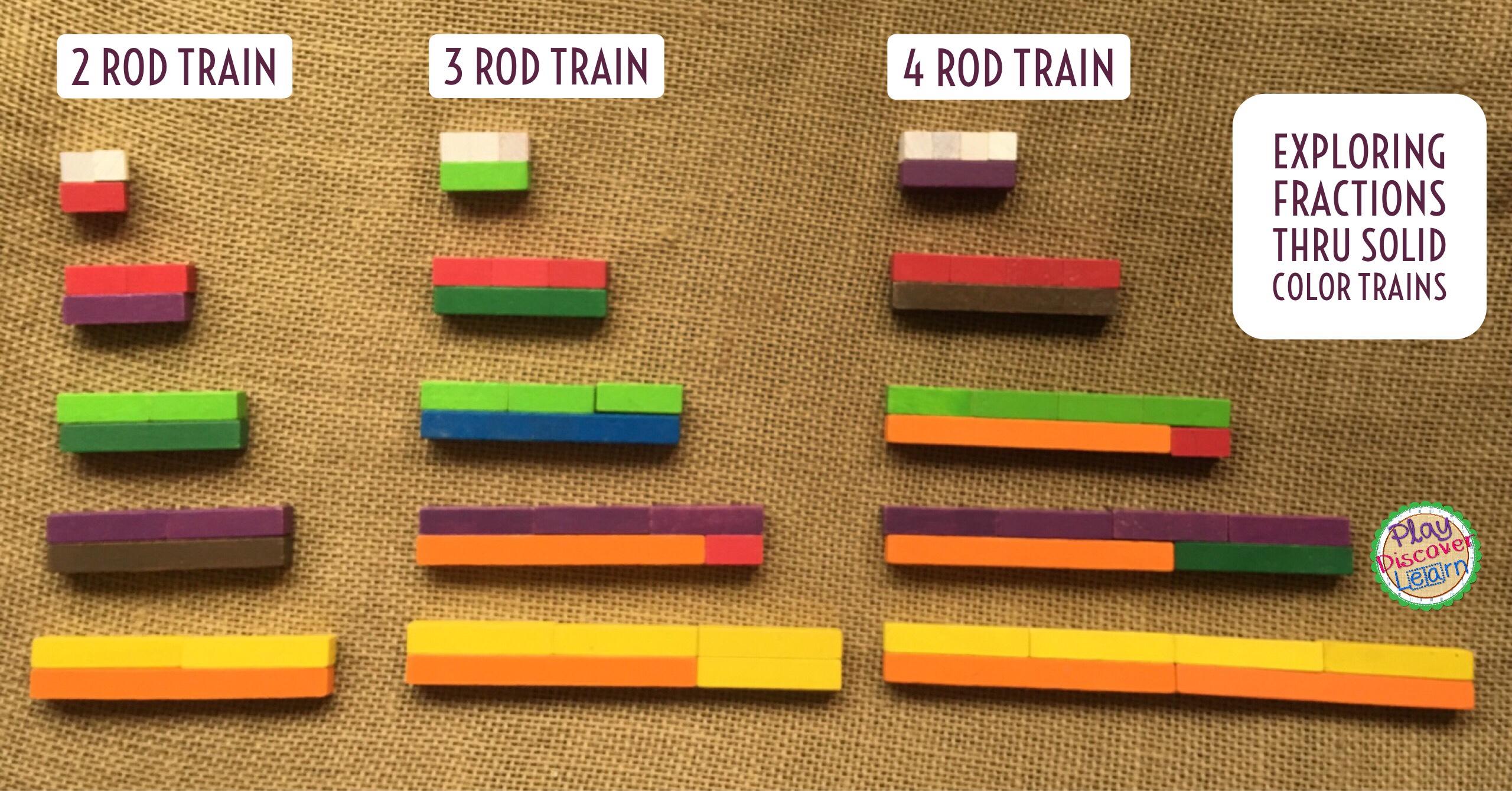 10 plus naming fractions