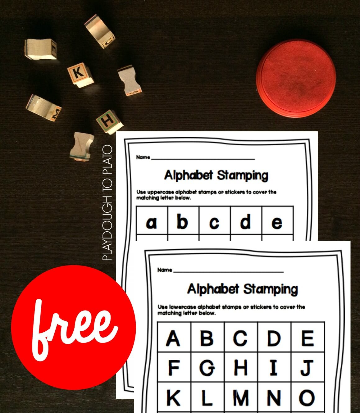 Abc Game Alphabet Stamping
