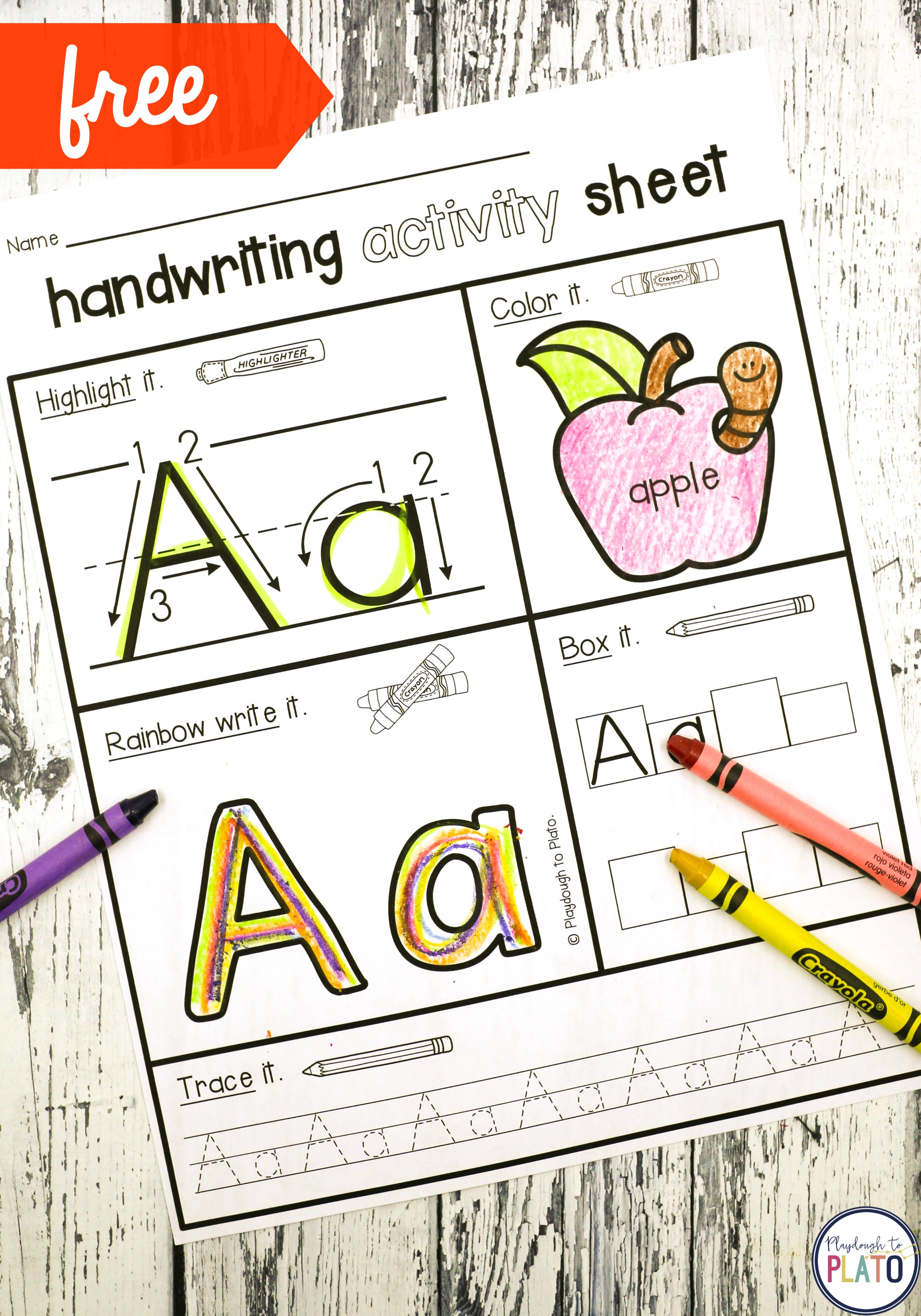 Handwriting Activity Pages
