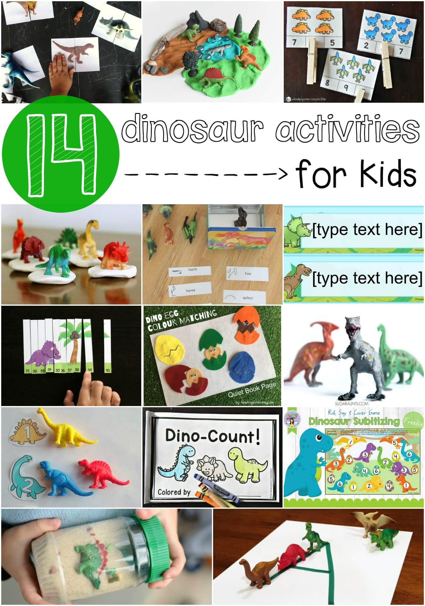 Dinosaur Subitizing Game