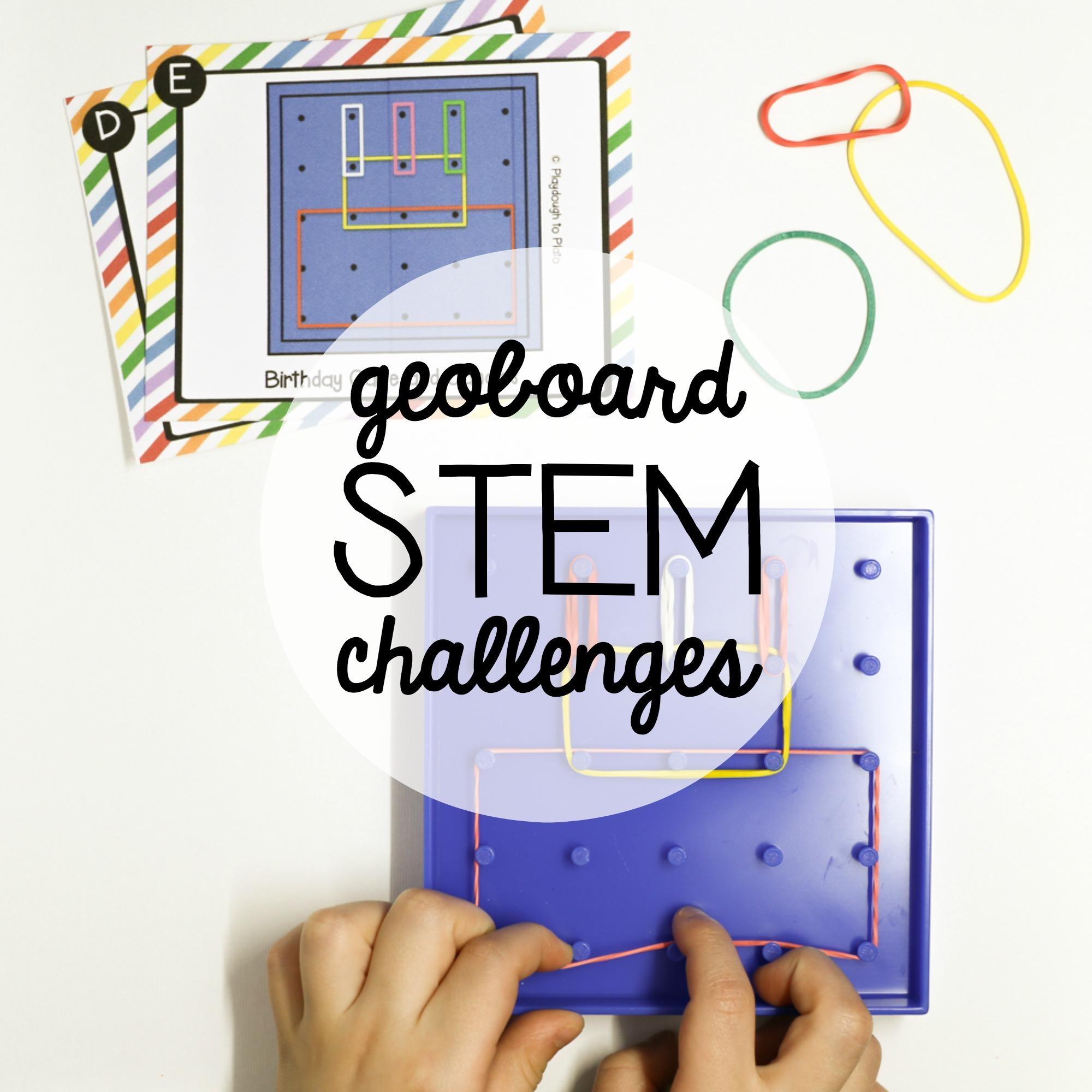 Stem Challenge Geoboards