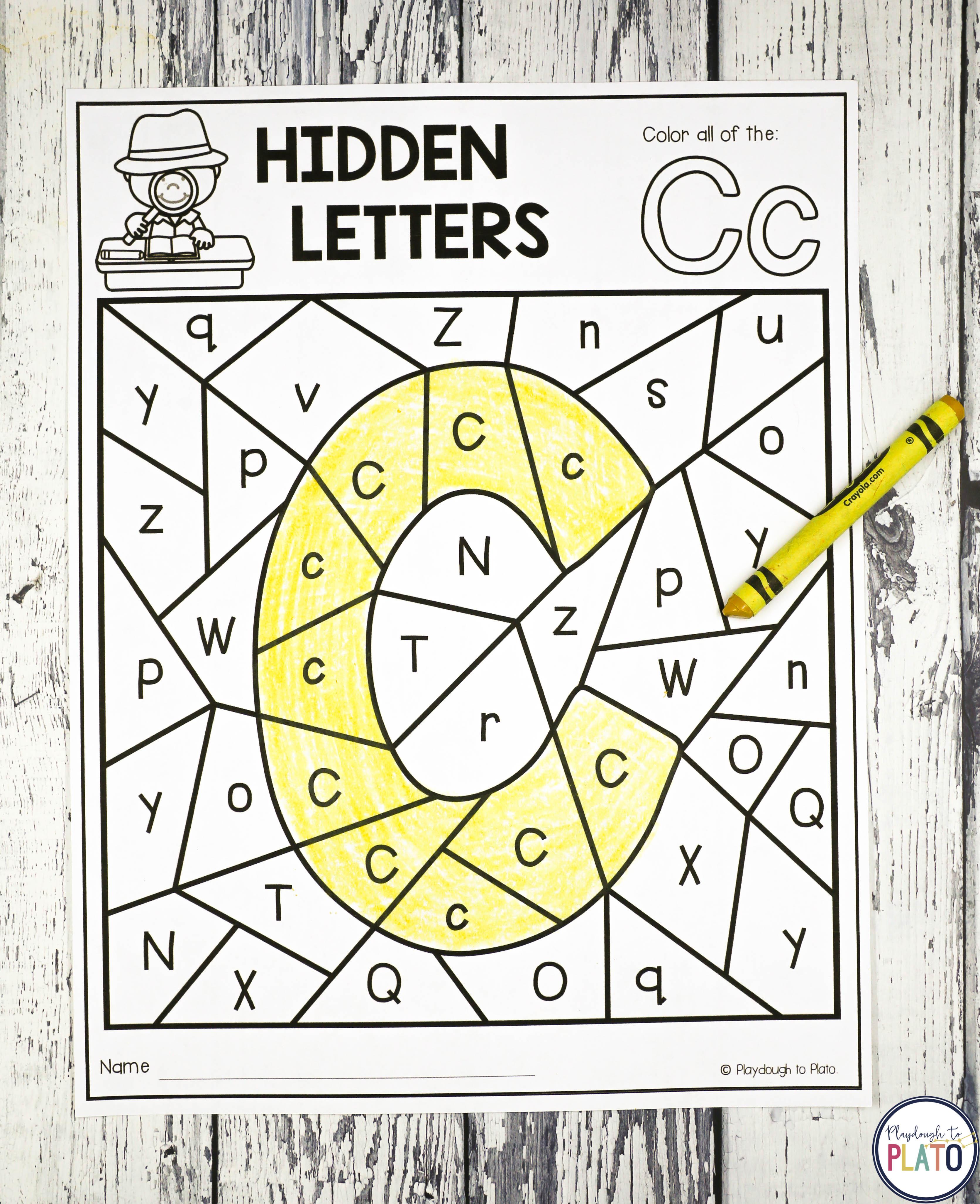 Hidden Letters