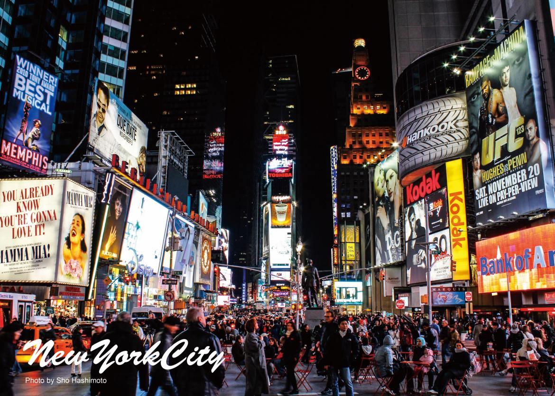 タイムズスクエア/ニューヨーク