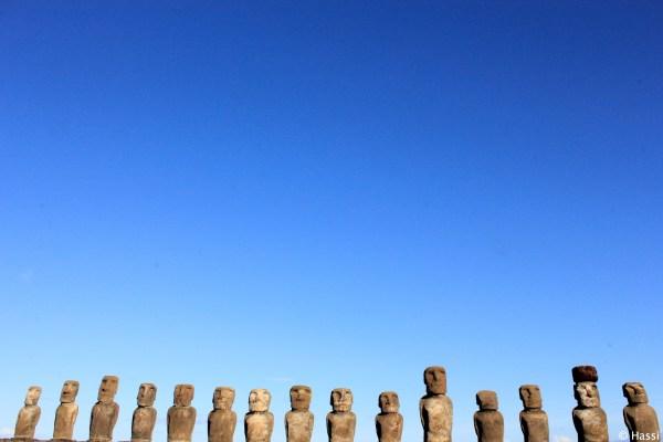 モアイの戦士たち/イースター島/チリ
