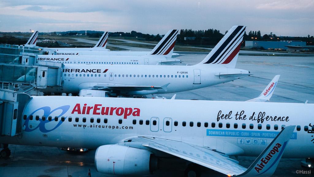 パリCDG空港/フランス