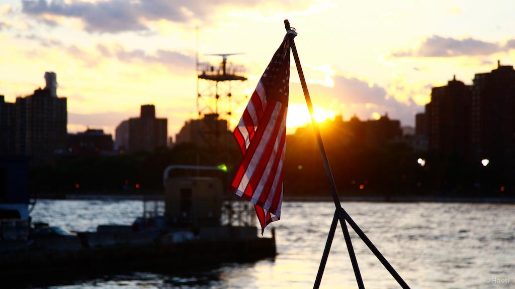 星条旗/ニューヨーク