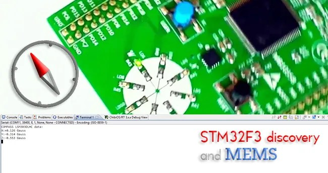 STM32F3 discovery and MEMS