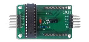 LED matrix driver circuit
