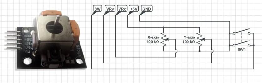 Joystick schematic