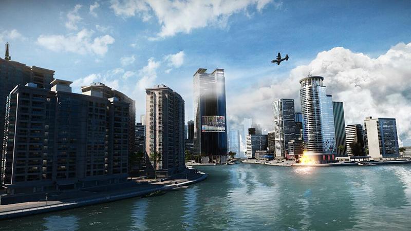 Battlefield 4 asedio en Shangai
