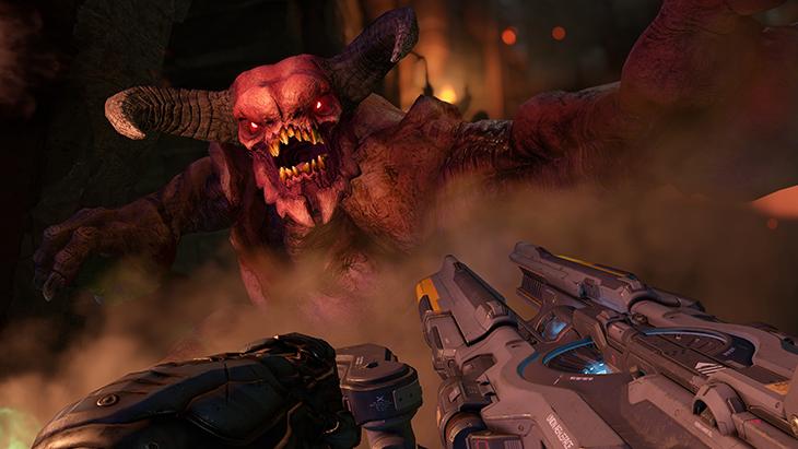 Conoce los monstruos y demonios de DOOM Player Reset