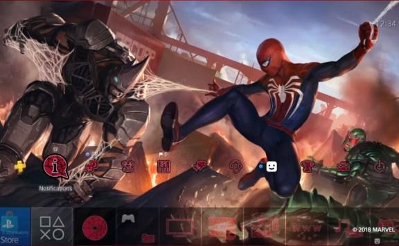 tema de Spider-Man